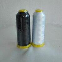 120D/2 100% Polyester Nakış Ipliği Makinesi Dikiş Yüksek Tenacith Aşınmaya Dayanıklı Nakış 5000 M Ev Kullanımı Konu