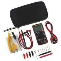 AN8009 True RMS Auto Range Digital Multimeter NCV Ohmmeter AC/DC Voltage Ammeter Current Meter Temperature Measurement