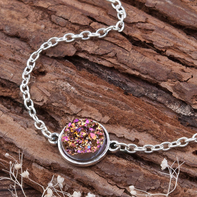 Resin Druzy /Drusy Bracelets