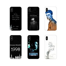Accessories Phone Shell Covers For Xiaomi Mi6 A1 5X 6X Redmi Note 5 5A 4X 4A 4 3 Plus Pro pocophone F1 Shawn Mendes Magcon(China)