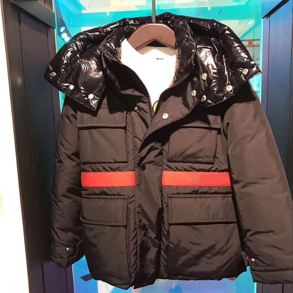 kid black down jackets hooded duck down clothes for boys girls autumn winter warm down coat outwear clothes in stock ruffled button down blouse in black