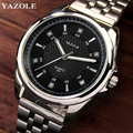 2017 Top Brand Luxury Famous YAZOLE Men Watch Steel Belt Male Clock Quartz Watch Wrist Business Quartz-watch Relogio Masculino