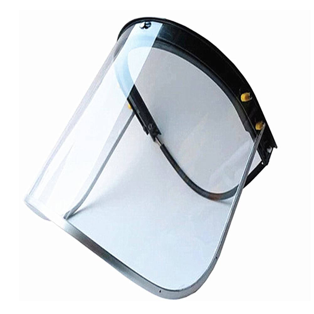With Frame Welding Workwear Lightweight Safety Transparent Eye Protection Flip Up Flame Retardant Mask Face Shield Screen