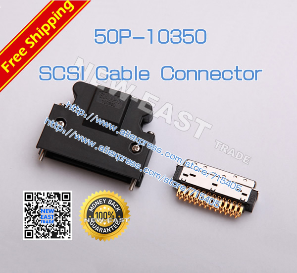 San M Scsi 50pin Replace 3m 10350 Scsi Cable Connector