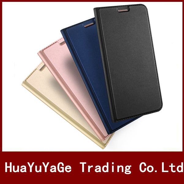 Phone Cases DUX DUICS ultra thin Anti drop shockproof Flip Cover Leather TPU Stand Case For