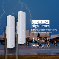 2PCS Comfast point to point Wireless bridge 300Mbps 3 5KM Outdoor Router 5.8 Ghz WIFI Amplifier Network wi fi access point CPE
