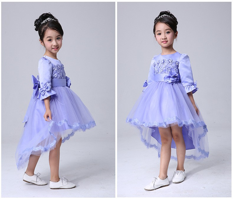 High Quality Girl Dresses Princess Children Clothes party Summer dance dress Kid's Party Dress Baby Girls Clothes Ball Gown jioromy big girls dress 2017 summer fashion flower lace knee high ball gown sleeveless baby children clothes infant party dress