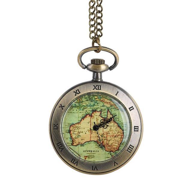 OTOKY 2018 Vintage Quartz Pocket Watch Necklace reloj de bolsillo Fob Clock With