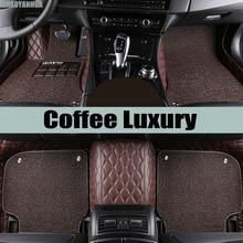 «Zhaoyanhua автомобильные коврики сделаны для Toyota Land Cruiser 200 Prado 150 120 Highlander FJ Crusier случае автомобиль-Стайлинг ковер вкладыши (