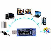 Digital USB Mobile Power charging current voltage Tester Meter Mini USB charger doctor voltmeter ammeter QC2.0 3.0 4-20V 15%of