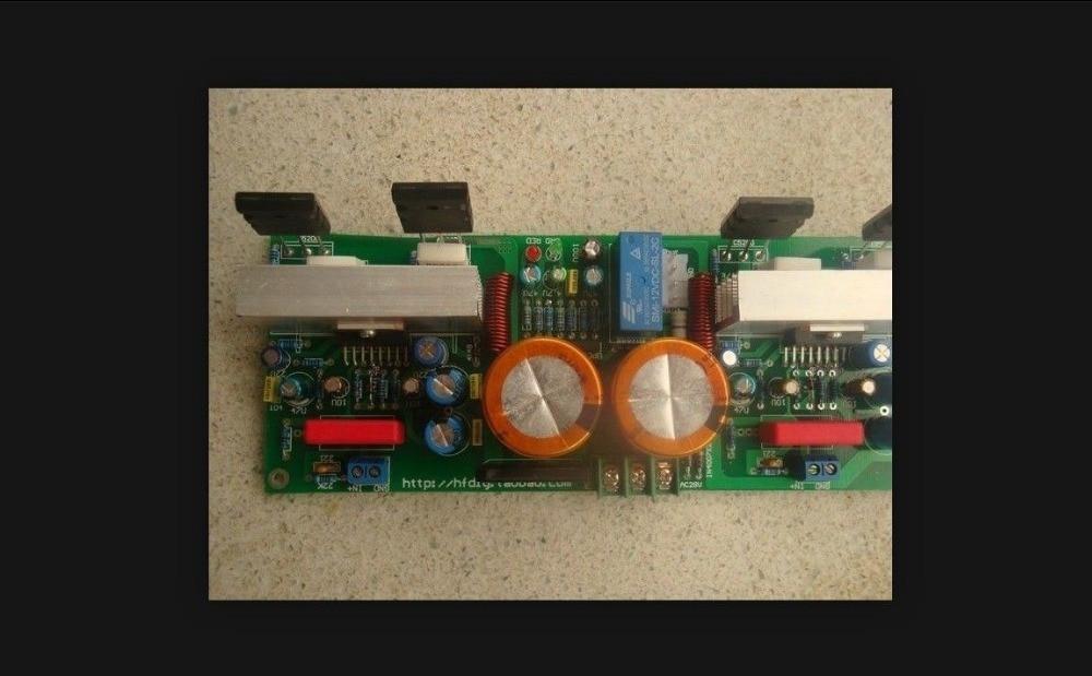 Stéréo amplificateur tda7294 + c5200 classe a et b diy kit