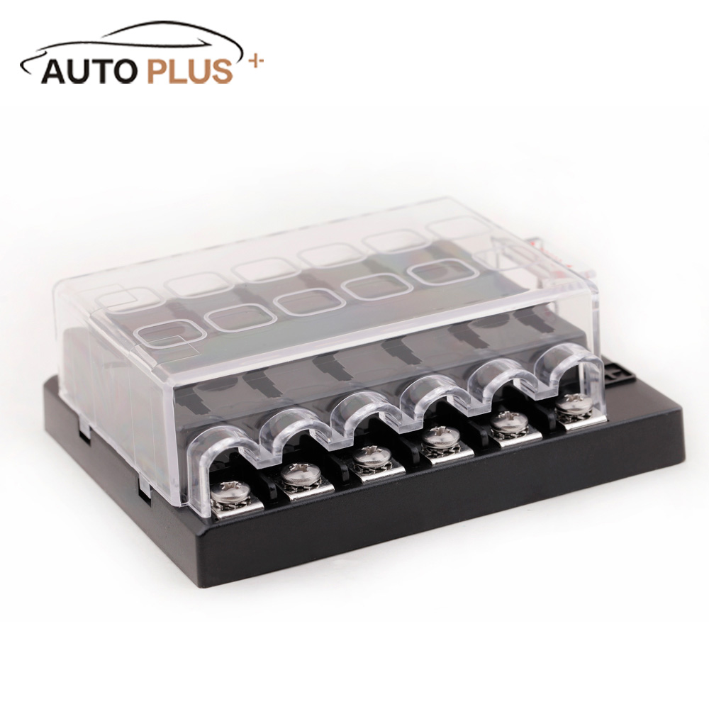 medium resolution of dc 32v 12 way auto fuse holder blade circuit car boat automotive box fuse block holder atc ato in fuses from automobiles motorcycles on aliexpress com