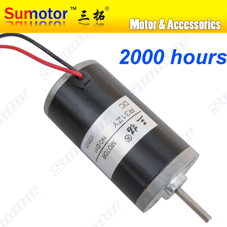 цена на R31ZY DC 12V 24V 4000 5500 6500 8000rpm High speed Electric DC motor Durable for Electric toys Carved bench drill Polishing