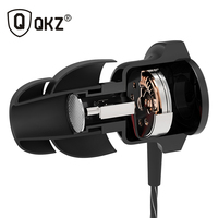 Genuine QKZ KD5 Hybrid Pro HD In Ear Earphone With Microphone For Cellphone Dual Driver Fone
