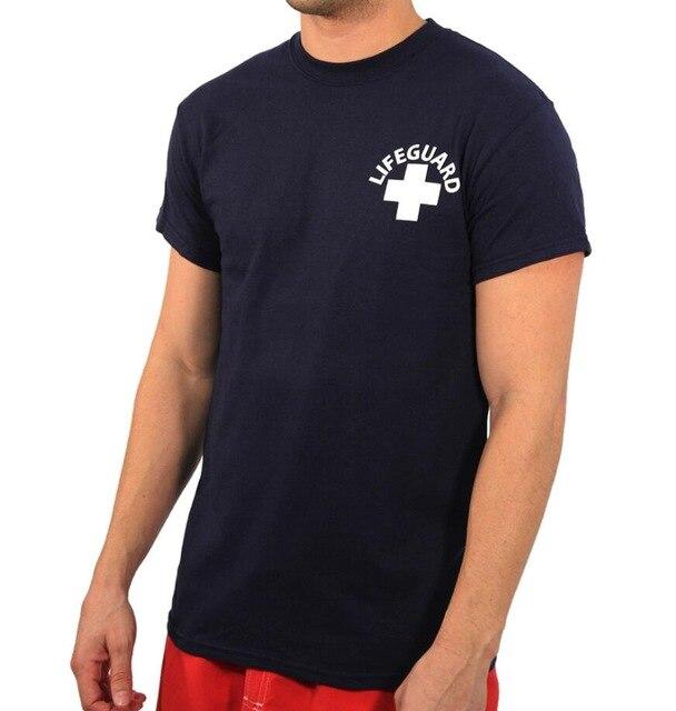 BAGNINO MUSCOLARE VENICE BEACH T-Shirt Da Uomo RETRO CA LA CALI BAYWATCH T-Shirt Donna Croce Rossa di Guardia di Vita Musica Rock Rap Tshirt