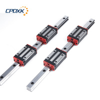 HGH30 linear slide block 4pcs with 1000mm guide rail HGR30 2pcs for CNC kit HGH30CA