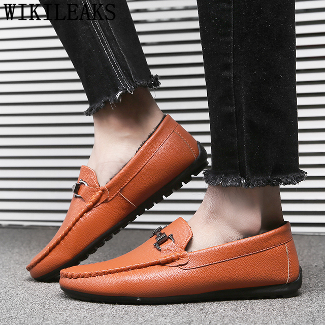 5aadea6f0ffd designer luxury brand mens loafers leather men shoes slip on mens shoes  casual hot sale calzado hombre tenis feminino casual