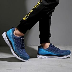Image 5 - Marca novedosa zapatos de seguridad para el trabajo de los hombres, zapatos deportivos ligeros transpirables, zapatos casuales antideslizantes. Tamaño 36 45,3 color.