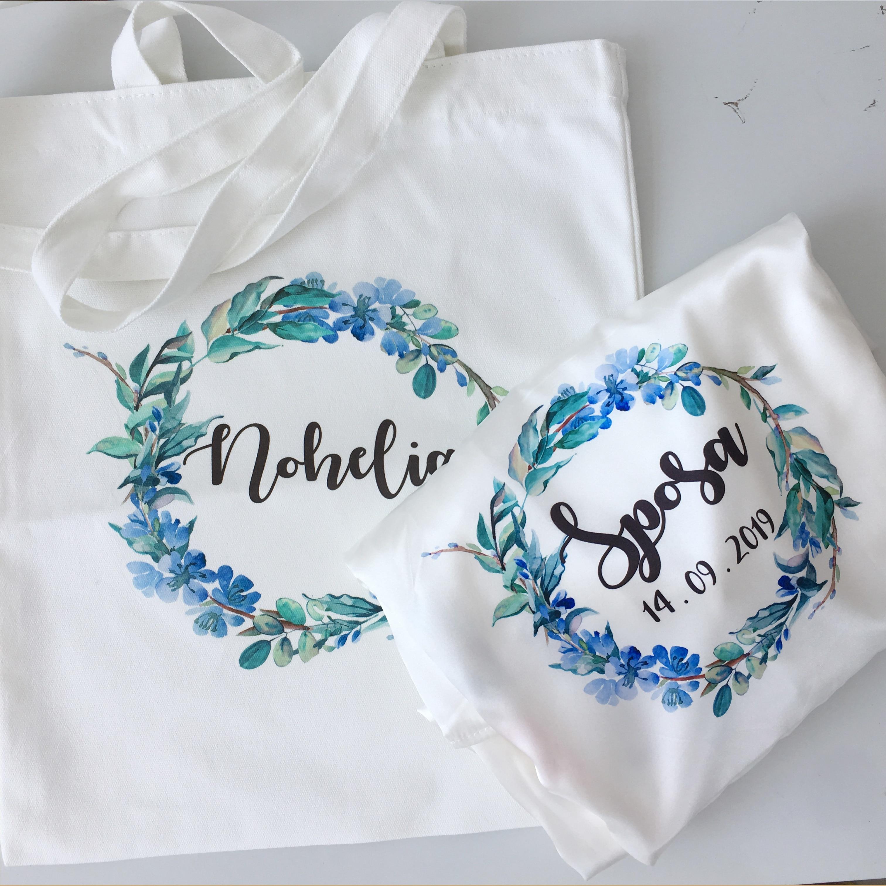5 stücke individuelles logo Hochzeit bachelorette party geschenke Team Braut zu werden Personalisierte leinwand taschen brautjungfer geschenk tasche-in Party-Geschenke aus Heim und Garten bei  Gruppe 3