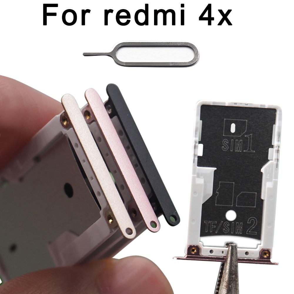 SIM Card Tray For Xiaomi Redmi 4X SIM & SIM / TF Card Tray