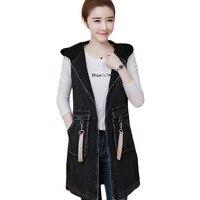 Short Vest Coat Women Stand Collar Sleeveless Down Cotton Vests Jackets Campera Mujer Warm Waistcoat Winter Jackets Coats F038