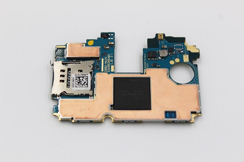 Oudini 100% DÉBLOQUÉ 32 gb pour LG G2 D802 Carte Mère, d'origine pour LG G2 D802 32 gb Carte Mère Test 100%