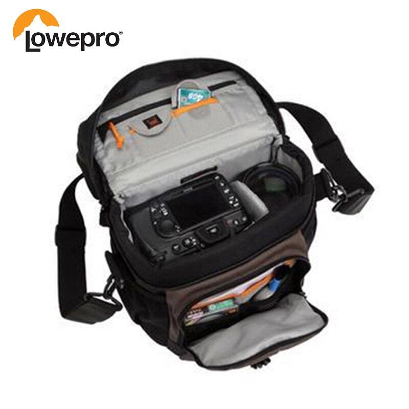 2016 New Pattern Lowepro Nova 180 AW Single Shoulder Bag Camera Photo Backpack Bag Cover Digital SLR Backpack цены онлайн