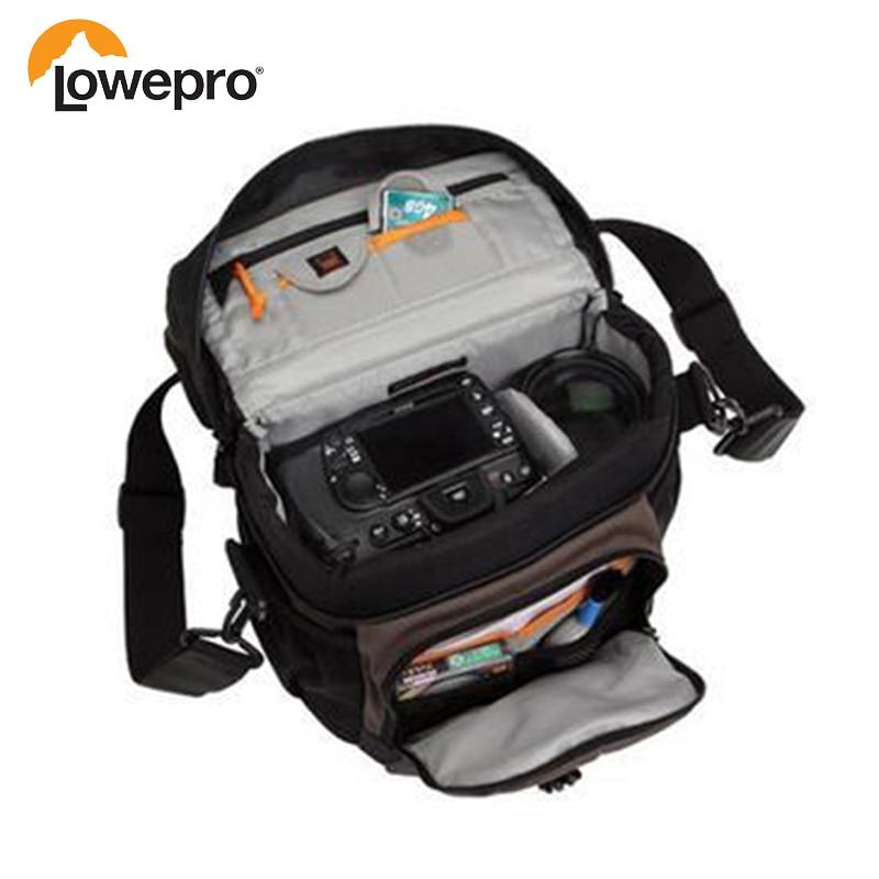 2016 New Pattern Lowepro Nova 180 AW Single Shoulder Bag Camera Photo Backpack Bag Cover Digital SLR Backpack
