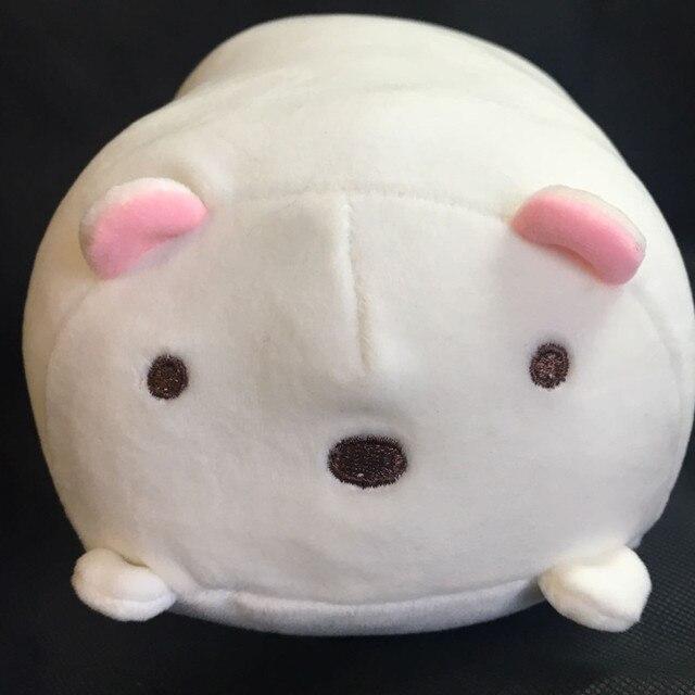 Boneca de Pelúcia Macia Travesseiro Bonito Dos Desenhos Animados Porco Brinquedo Macio travesseiro de viagem pescoço travesseiro de espuma de memória
