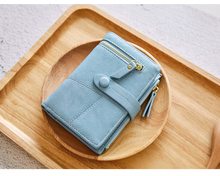 2019 New Women Wallets Lady Purses Female Wallet Short Zipper Mini Fashion Hasp Leather Coin Card Holder Wallet Clutch Bag цены онлайн