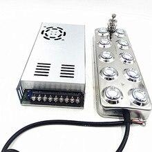 Atomiseur ultrasonique industriel à 10 têtes, 5 Kg/H, brumisateur ultrasonique pour champignon, DC 48V