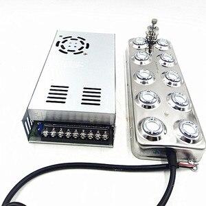 Image 1 - Atomizador ultrasónico Industrial DC 48V, 10 cabezales, humidificador, máquina de niebla 5 Kg/H, generador de niebla ultrasónica para hongos