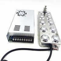 DC 48V Neue Ultraschall Zerstäuber Industrielle 10 Kopf Hause Luftbefeuchter Nebel Maschine 5 Kg/std Ultraschall Nebel Maker Fogger Für pilz
