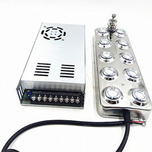 Dc 48 12v 新超音波アトマイザー産業 10 頭加湿器フォグマシン 5 キログラム/時間超音波ミストメーカー噴霧器キノコ