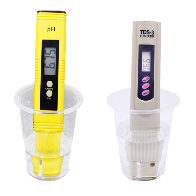 Portable Pocket Pen Water PH Meter Digital Tester Quality for Aquarium Pool and LCD Digital TDS3 Temp PPM Tester 10% brand kedida digital tds meter pen type 0 1000 ppm lcd electrical conductivity meter atc aquarium pool water quality tester