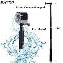 """عمل كاميرا POV Pola 36 """"تصفح الغوص للتمديد GoPro selfie عصا القطب Monopod ل GoPro بطل 5 4 3 ل SJCAM يي"""