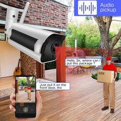 SDETER IP Camera Wifi Wireless CCTV Bullet Outdoor Waterproof 1080P 720P Night Vision IR Onvif Security Camera Two Way Audio P2P