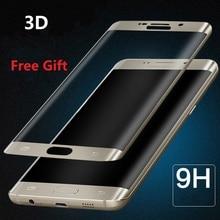 3D Tempered Glass for Samsung Galaxy S7 Edge Glass on Samsung Galaxy S9 S8 S10 Plus Lite S10e S7 Edge Screen Protector Film Foil samsung защитное стекло 3d tempered glass для g935f galaxy s7 edge белое