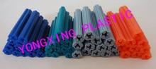 500 шт./лот прямо пластиковых труб расширить ногтей якорь 7X25 мм