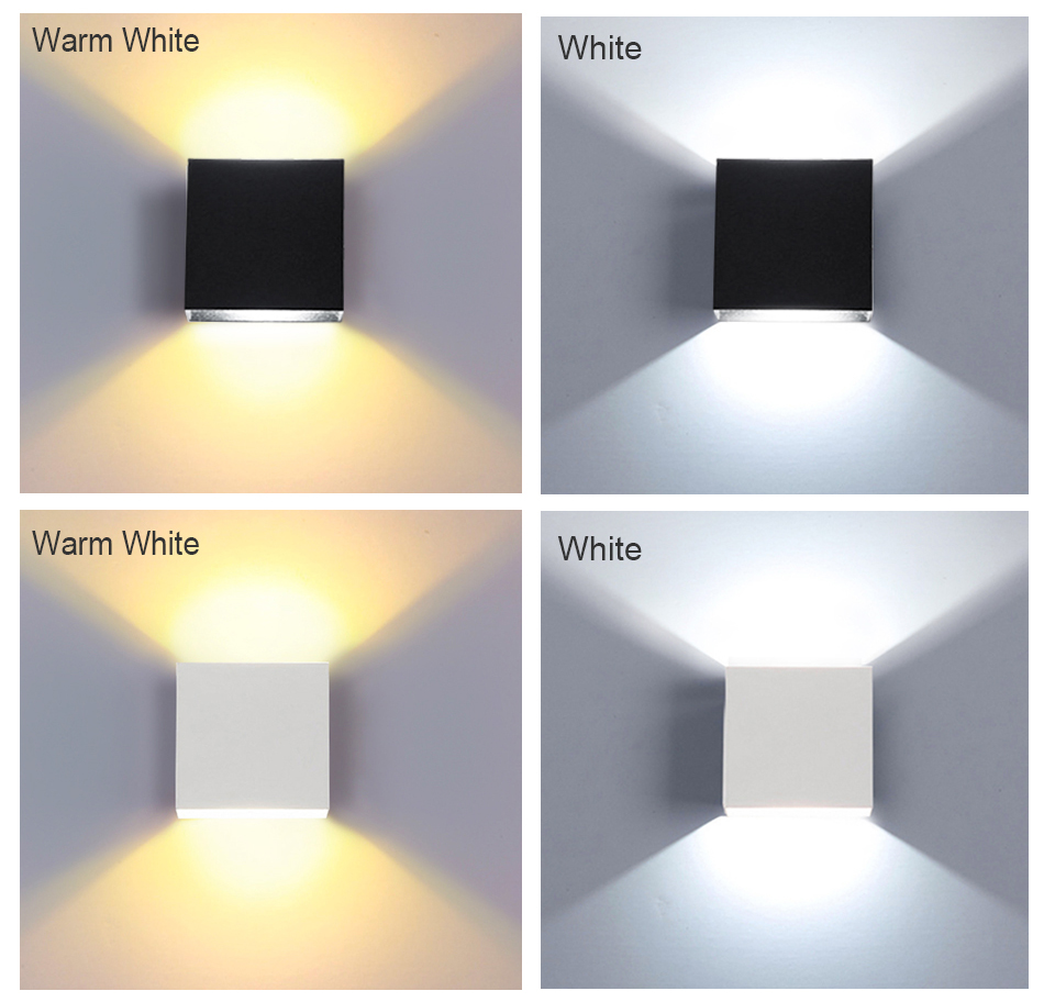 LED Diode Wall lampada  For Bedroom Living Room (4)
