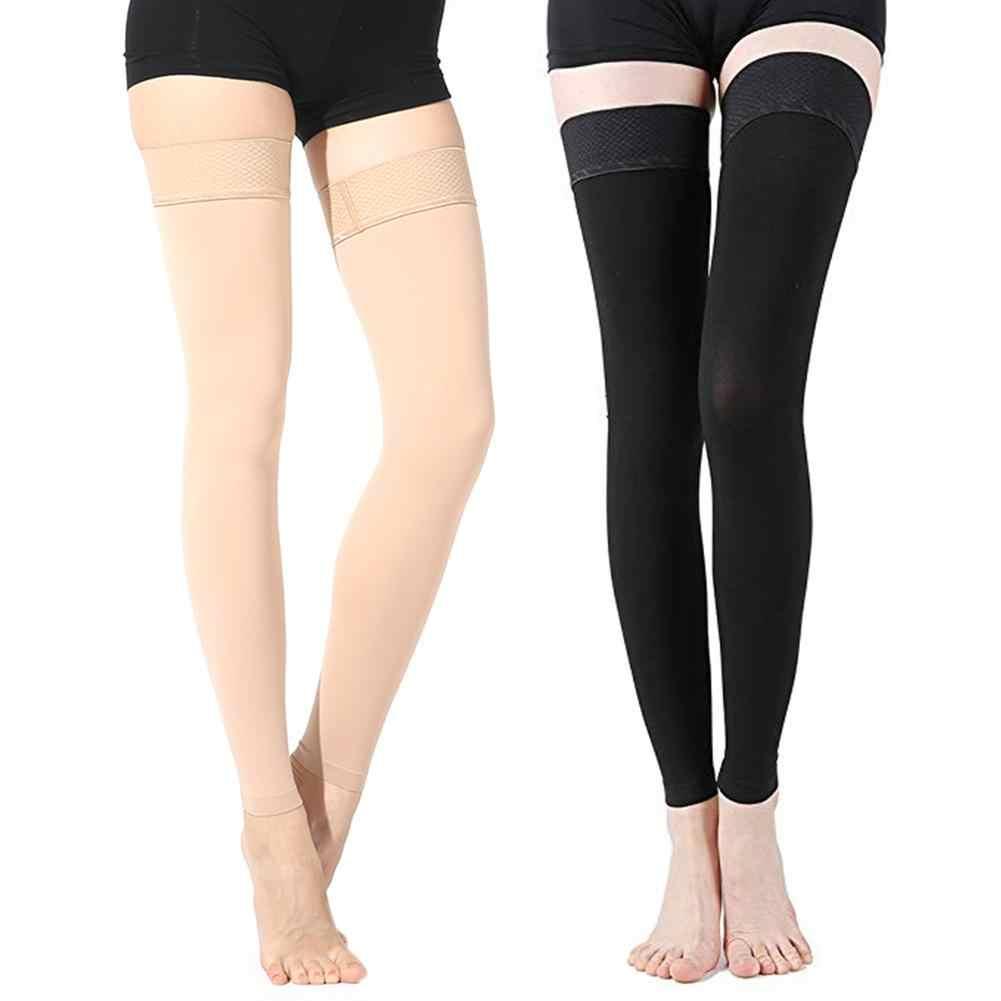 เข่า - สูงการแพทย์การบีบอัดถุงน่องขาอุ่นเส้นเลือดขอดการบีบอัด Brace Wrap Shaping สำหรับผู้ชายผู้หญิง L/ XL/2XL