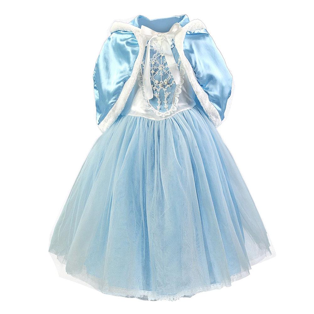 Cinderella Princess Dress for Girl Wear Halloween New year Christmas ...