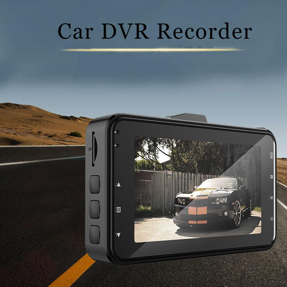 3.0 Inch Car DVR Camera Dual Lens With Rear View Camera Full HD 1080P Car Camcorder Dashcam Night Vision G-sensor Recorder3.0 Inch Car DVR Camera Dual Lens With Rear View Camera Full HD 1080P Car Camcorder Dashcam Night Vision G-sensor Recorder