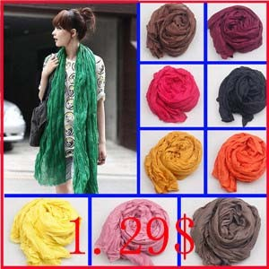 180-50CM-New-2015-Fashion-Women-Scarf-Candy-Color-Soft-Shawl-Scarves-Female-Cape-20-Colors