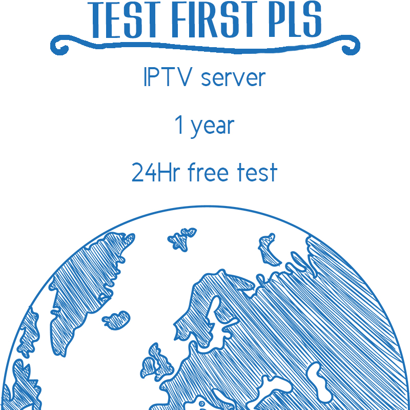 2018 New 1 Year IPTV Free test 24Hr SmartTV Android M3U Enigma2 MAG25X 1 year Albania Sweden Italy Germany