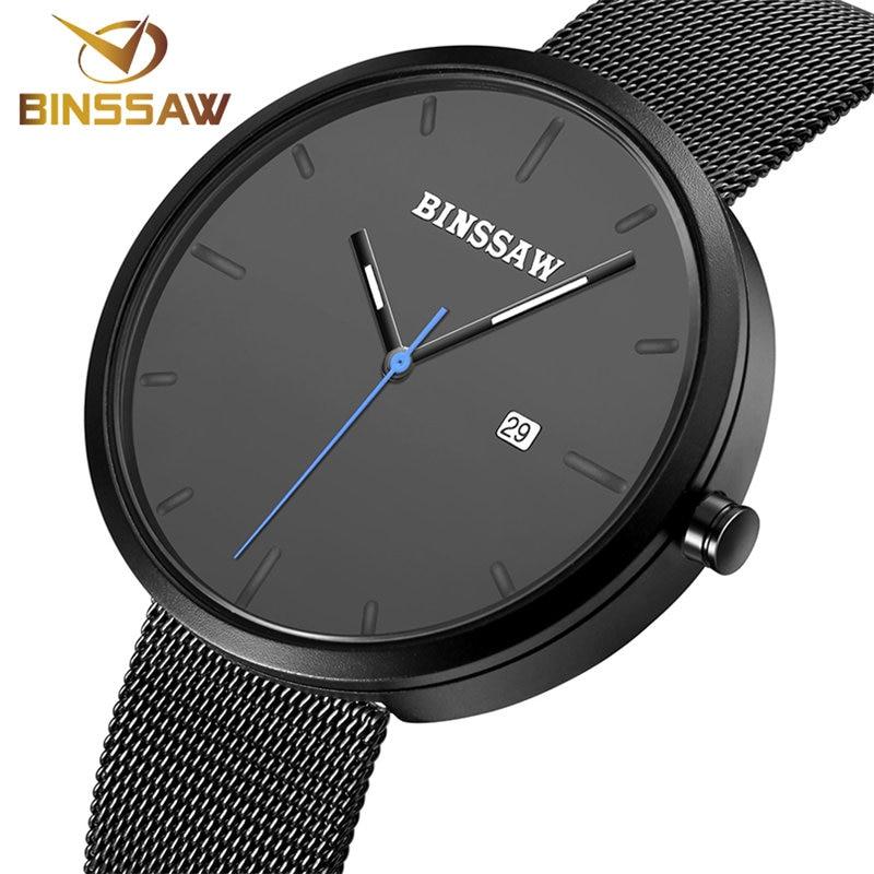 BINSSAW Նոր տղամարդկանց ժամացույցներ - Տղամարդկանց ժամացույցներ - Լուսանկար 3