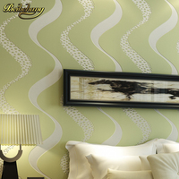 Wall Paper Pune Living Room Sofa Backdrop Wallpaper Modern Minimalist Perspective After Wave Stripe Non Woven