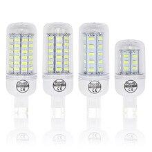 7 Вт, 12 Вт, 15 Вт, 20 Вт, Bombillas светодиодный лампы SMD 5730 lamparas G9 Светодиодный светильник 24 36 48 56 69 72 светодиодный s лампада 220V лампы ампулы свечи приспособления для чистки