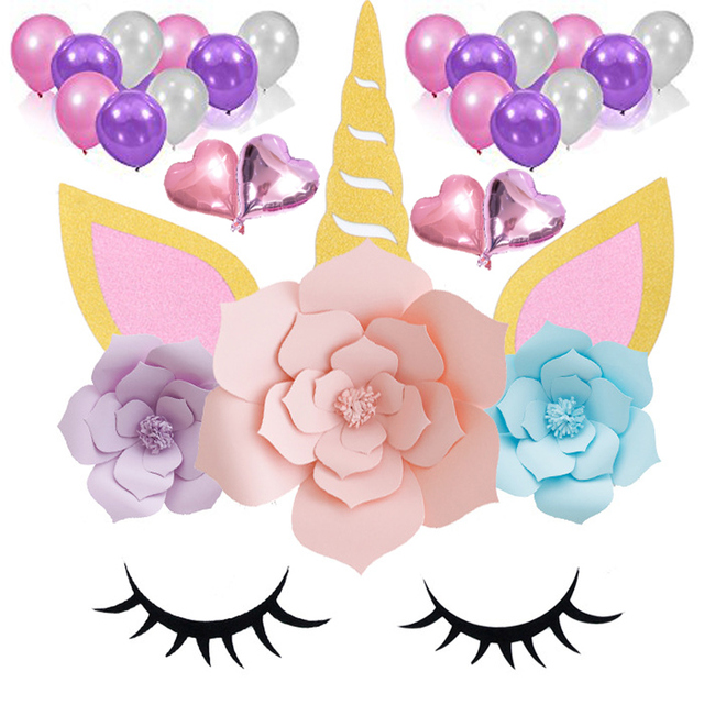 unicorn party decorations for girls birthday party baby shower diy