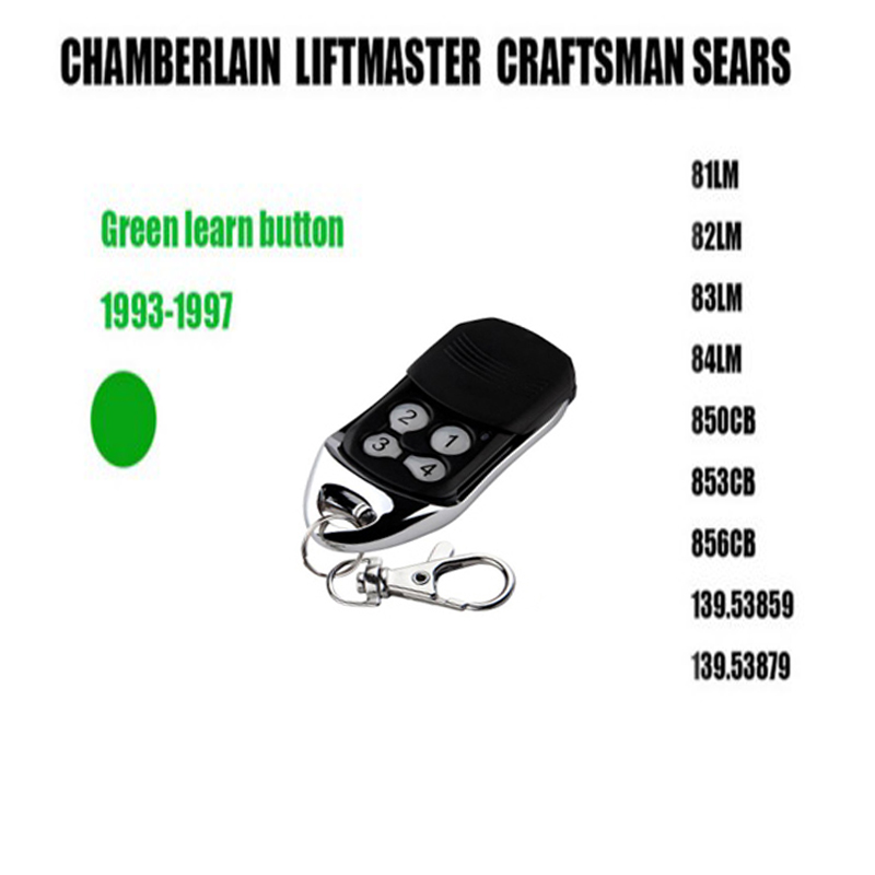1pcs FOR Liftmaster Chamberlain CRAFTSMAN Green Learning Button Free Shipping